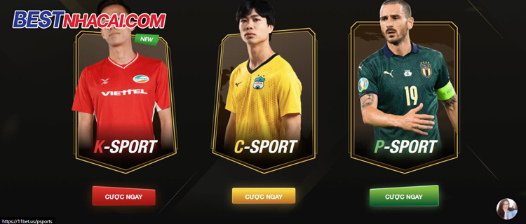 thể thao 11bet